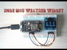 Weather Widget: 9 Steps (with Pictures) Esp8266 Projects, Simple Arduino Projects, Diy Projects, Arduino Wifi, Arduino Programming, E Ink Display, Weather Information, Electrical Projects, Gaming Computer