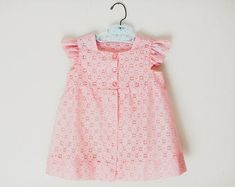 Lovely goodies for your home babies and happiness by KiteParade Baby Summer Dresses, Summer Baby, Vintage Baby Dresses, Cute Dresses, Pink Dress, Lace Dress, Cute Baby Girl Outfits, Handmade Baby, Pink Lace