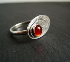 Cinnamon Jewellery: New Project - Carnelian and Sterling Silver ...