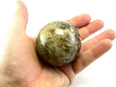Sphere from Morion Crystal Sphere 48 mm Magic ball Natural