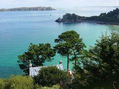 Baie de Perros Guirec en Bretagne