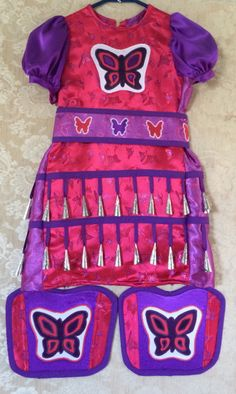 Just finished making this Girls size 4 Jingle dress outfit :)