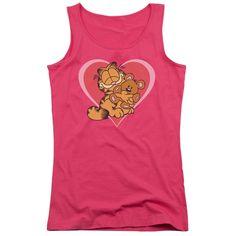 Garfield: Cute N'Cuddly Junior Tank Top