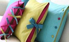 pillows: