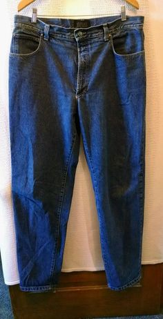 VERSACE JEANS COUTURE men's JEANS 100% Cotton Md in Italy SZ 40      54 #VersaceJeansCouture #ClassicStraightLeg
