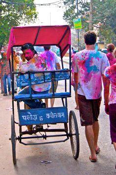 Happy Holi in New Delhi, India