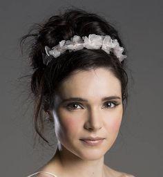 Florrie Spot Silk Flower Headband