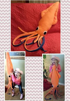 Gift: Giant Squid Plushie by mihijime.deviantart.com on @deviantART