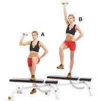 Step-Up and Single-Arm Press