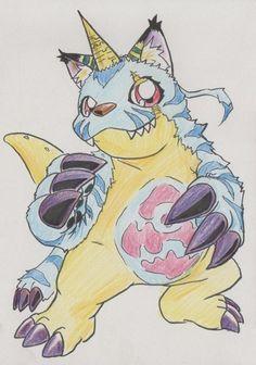 Digimon Adventure Halloween   FanArt  Gabumon