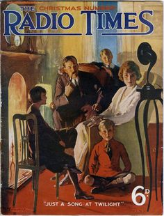 For many, the Christmas 'Radio Times' is a tome of wonder during the festive period. Take a look at how times have changed with Christmas covers spanning 90 years. Radios, Old Magazines, Vintage Magazines, Images Vintage, Vintage Posters, Radio Times Magazine, Lps, Pub Vintage, Vintage Books