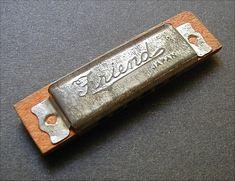 Friend Toy Harmonica Vintage Japan by queenofsienna on Etsy, $14.00