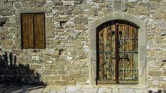 Door, Window, Wooden, Old, Wall