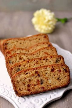 Eggless Fruit & Nut Cake -- Cook's Hideout.