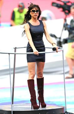 Victoria Beckham Olympics closing ceremony rehearsals