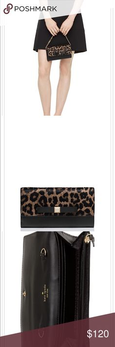 Kate Spade rivas haircalf milou bag/wallet New with tag. Price is firm. kate spade Bags Wallets