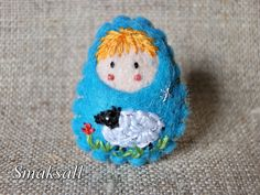 """Broche  le Petit Prince """"dessine moi un mouton"""""""