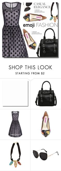 """""""Elegance"""" by soks ❤ liked on Polyvore featuring Betsey Johnson, vintage and polyvoreeditorial"""