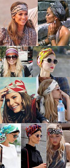 turban style headbands