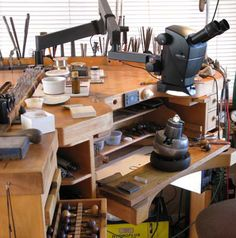 Thomas Fistler's Jewelry Bench