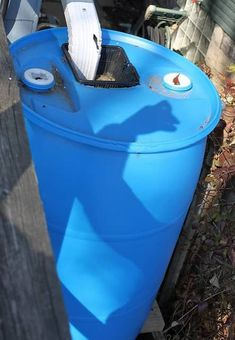 water barrel with air vent