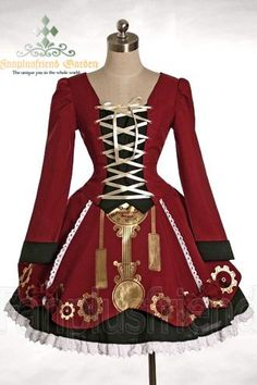 I found 'Industrial Steam Punk Lolita Dress' on Wish, check it out!