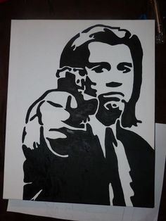#johntravolta #pulpfiction #zeichnen #draw #drawing #art #artwork #painting