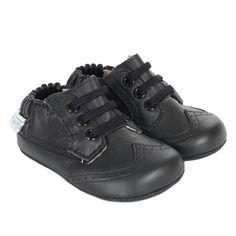 Robeez Dress Man Mini Shoez, Black, Boys, Baby, Infant, Pre-Walker, Toddler, Shoes, 3-24 Months, side
