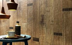 Wall Tiles with Scrapwood Effect