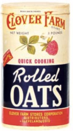 Cooking Rolled Oats, Vintage Tins, Outlander, Crates, Las Vegas, Cereal, Boxes, Packaging, Mom
