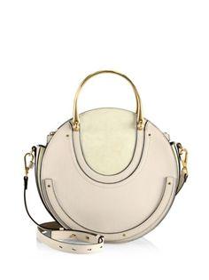 Chloé - Pixie Medium Round Leather Shoulder Bag