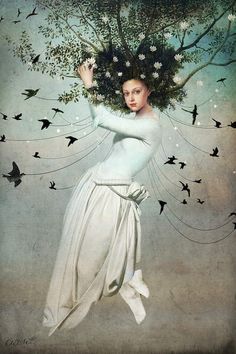 View Come fly with me by Catrin Welz-Stein and purchase the artwork as fine art print, canvas and framed wall art Intuitive Empath, Come Fly With Me, William Turner, Wow Art, Wassily Kandinsky, My Canvas, Surreal Art, Surreal Portraits, Art Plastique
