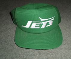b7f8641e2f4 Men s Vintage Green   White NY JETS NFL NEW ERA Pro Design Hat