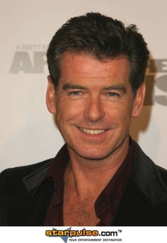 Pierce Brosnan Of all celebrities I would like to do Mr.Bond,I mean Brosnan is still near the top of my list.So what if he is almost 60?!