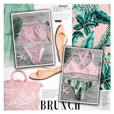 """""""Mother's Day Brunch Goals"""" by vanjazivadinovic ❤ liked on Polyvore featuring MC2, Tiffany & Co., Roberto Cavalli, Tkees, PBteen, polyvoreeditorial, zaful and brunchgoals"""