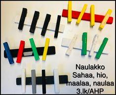 Helppo puutyö, naulakko  3.lk/AHP Work Inspiration, Triangle, Teacher, School, Crafts, Professor, Manualidades, Teachers, Handmade Crafts
