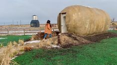 Kristie Wolfe spent over a year touring the U. with a giant potato to promote Idaho's spud industry and dreaming about turning the tuber into . Sink Toilet Combo, Buy A Cow, Pet Cows, Grain Silo, Idaho Potatoes, The Ancient One, Antler Chandelier, Little Houses, Tiny Houses