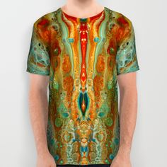 mirror 8 All Over Print Shirt by Annemarie | Society6