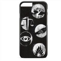 Divergent Logo Art TATUM-3473 Apple Phonecase Cover For Iphone SE Case
