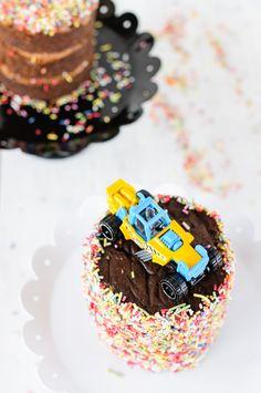 brownie schokoladencreme törtchen für mr. mini-superman