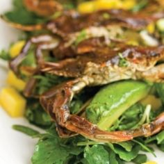 Sauteed Soft-shell Crabs with Garlic and Butter | Recipe