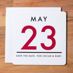 Wedding Invitation Save the Date - Vintage Calendar Save the Date Set via Etsy