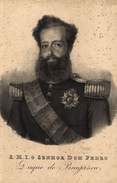 "Pedro I nicknamed ""the Liberator"", was the founder & first ruler of the… Dom Pedro I, Pedro Ii, Portuguese Royal Family, History Of Portugal, Learn Brazilian Portuguese, Portuguese Lessons, Modern Artists, Military Army, Royalty"