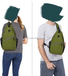 Hippie Shoulder Sling Bag (5) Shoulder Sling, Sling Backpack, Leather Bag, Backpacks, Canvas, Bags, Fashion, Tela, Handbags
