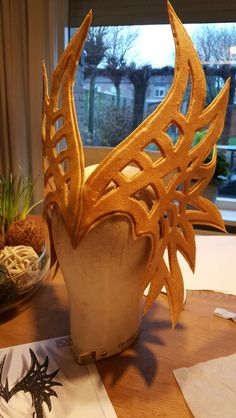 Headpiece made of worbla
