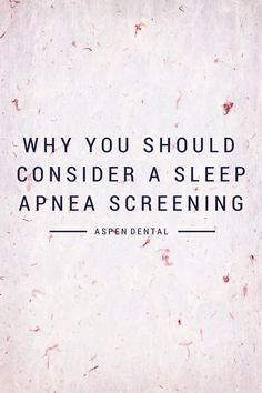 Sleep Apnea Screening - See more sleep apnea tips at StopSnoringPlease.com
