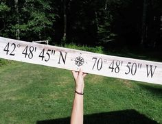 Coordinates sign done!! Love how this one turned out and how the wood reminds of sand and it's heading to Cape Cod!!! . . . . . . .  #thisnthatdesignz #homedecor #home #homeinterior #instahome #antique #farmhousestyle #farmhousechic #farmhouse #rustic #rusticdecor #coordinates #beach #coastalliving #coastaldecor #pallet #palletart #nautical #etsy #etsyshop #custom #customsign