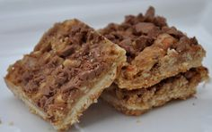 16 Toffee Chocolate  Almond Shortbread Bars Gift by notjustcookies, $16.99