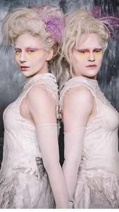 Probably my favorite character in the movie, the albino twins
