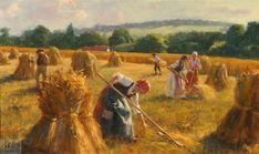Gregory Frank Harris (b.1953) A Golden Harvest